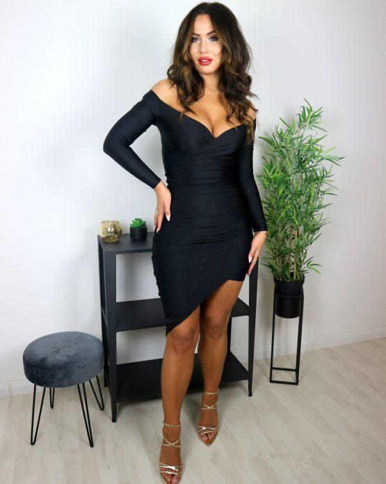 'NASJA' haljina CRNA