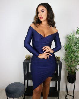 'NASJA' haljina TAMNO PLAVA