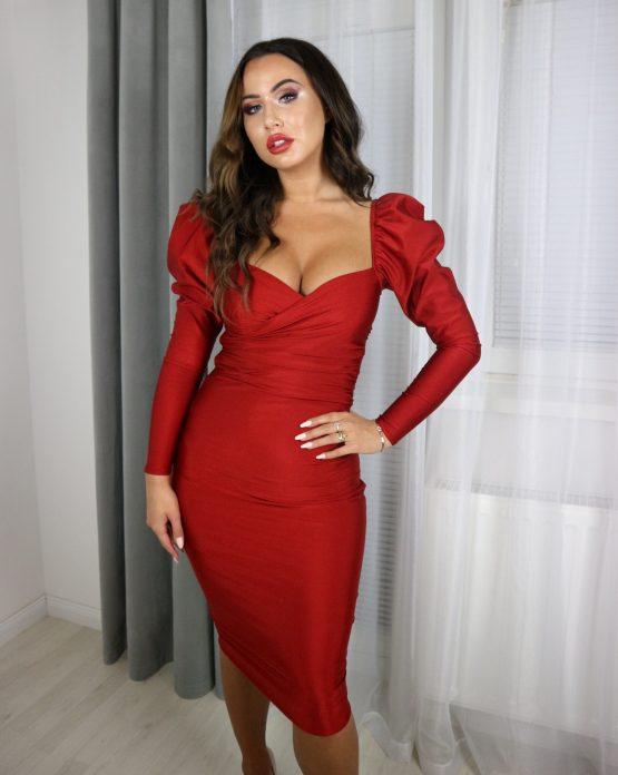 'EVELINE' haljina TAMNO CRVENA