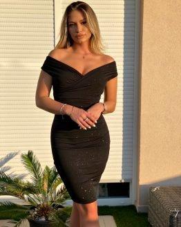 'DELIA' haljina SHIMMER